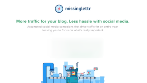 Strategic, automated social media campaigns powered by Missinglettr